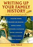 img - for Writing up Your Family History: A Do-it-Yourself Guide (Genealogy) book / textbook / text book