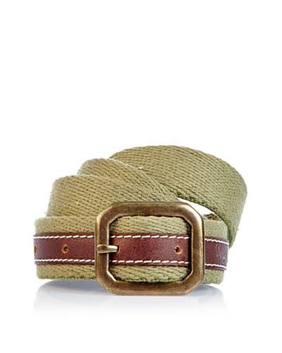 Wrangler Cinturón Kurt Verde