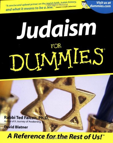 Judaism For Dummies front-974254