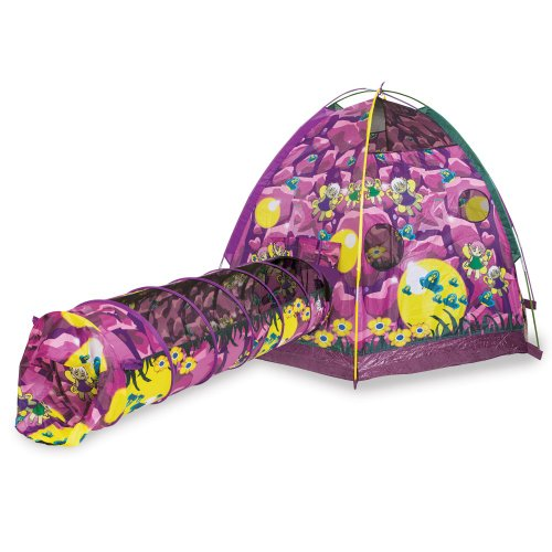 Pacific Play Tents Dancing Fairies Tent & 6 ft. Tunnel Combo