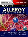 img - for Middleton's Allergy 2-Volume Set: Principles and Practice (Expert Consult Premium Edition - Enhanced Online Features and Print), 8e (Middletons Allergy Principles and Practice) book / textbook / text book