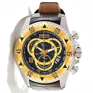 Invicta 11016 Reserve Men's Excursion Swiss Quartz Chronograph Stainless Steel Bracelet Watch