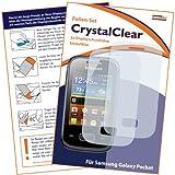 """2x mumbi Displayschutzfolie Samsung Galaxy Pocket Schutzfolie CrystalClear unsichtbarvon """"mumbi"""""""