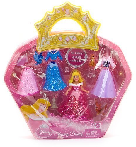 Buy Low Price Mattel Sleeping Beauty 3.5″ Disney Princess Favorite Moments Figure Playset (B002W86GVK)