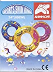 KAMACHI SWIMMING SAFETY RING PVC TUBE TYRE FOR KIDS SIZE 24