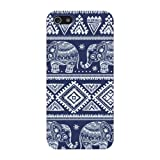 Blue Elephants Aztec Hard Case Cover iPhone 5S/5 Reviews