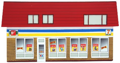 Convenience Store HO Scale Train Building