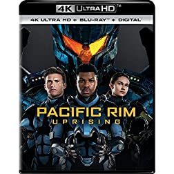 Pacific Rim Uprising [4K Ultra HD + Blu-ray]