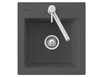 Villeroy Boch Subway XS &Graphite Grey Ceramic Inset Mounting Kitchen Sink