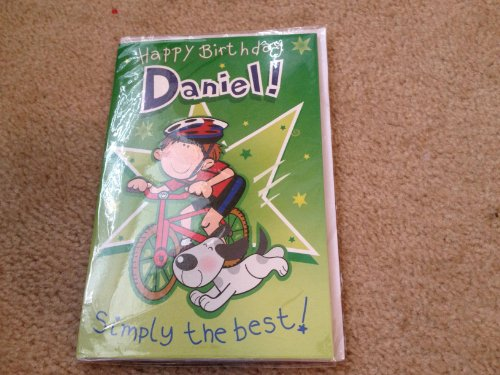 Happy Birthday Daniel - Singing Birthday Card - 1