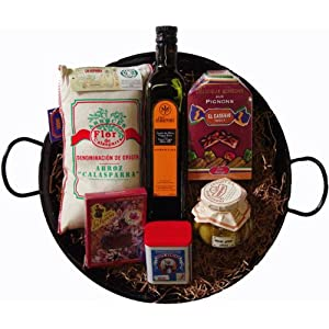 Paella Gift Set with Spanish Delicacies