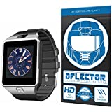 DFlectorshield Premium Scratch Resistant Screen Protector for the Veezy Gear S Bluetooth Smart Watch