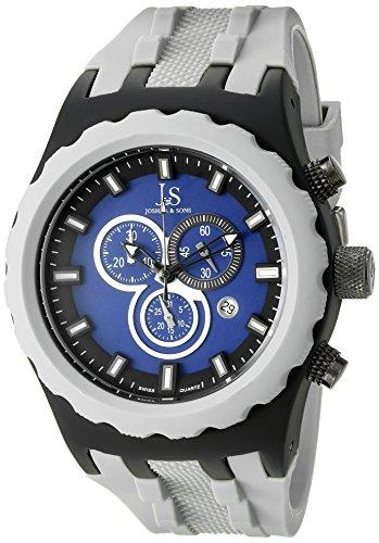 Joshua y para hombre Sons JS59GY de cuarzo analógica Swiss gris reloj