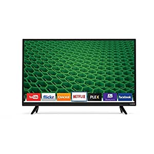 VIZIO D32H-D1 32-Inch 720p 60Hz Smart LED HDTV (Certified Refurbished)