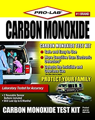 Pro-Lab CA101 Carbon Monoxide Test Kit from Pro-Lab