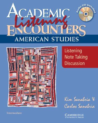Academic Listening Encounters: American Studies-...