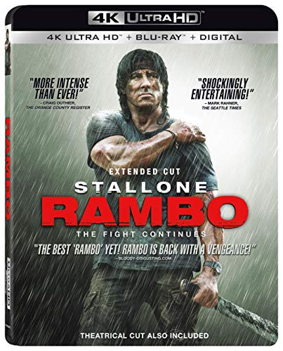 4K Blu-ray : Rambo: The Fight Continues (2 Discos)
