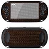 atFoliX Designfolie &#34;FX-Honeycomb-Brown&#34; fr Sony PlayStation Vitavon &#34;Designfolien@FoliX&#34;