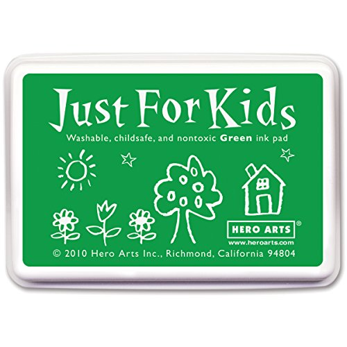 Hero Arts Rubber Stamps Just for Kids, Green (Non Toxic Stamp Pad compare prices)