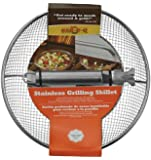 Mr. Bar-B-Q 06814X Stainless Steel Mesh Grilling Skillet
