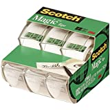 Scotch Magic Tape , 3/4 x 300 Inches, 12 Rolls