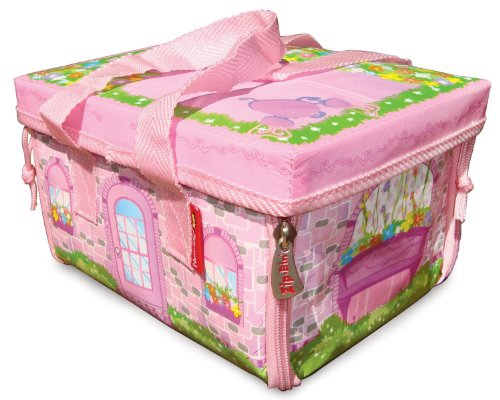 Neat-Oh! ZipBin Everyday Princess 50 Doll Mini Mansion w/ 1 Doll JungleDealsBlog.com