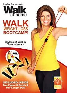 Leslie Sansone: Walk Weight Loss Bootcamp Kit