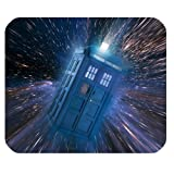 Subrina Sunshine Fashionable Design Doctor Who Tardis Police Box for mouse pad