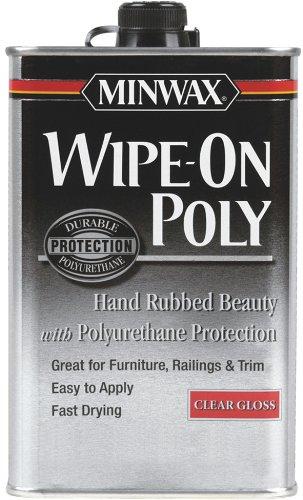 minwax-60900-wipe-on-poly-polyurethane-finish-clear-gloss-quart-by-minwax