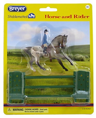 breyer-stablemates-fancy-semi-leopard-show-jumping-english-appaloosa-horse-with-female-rider-and-jum