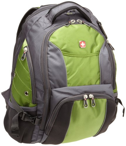 SwissGear Computer Backpack (Green/Gray)