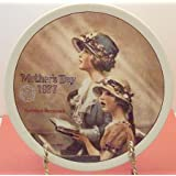 "Norman Rockwell ""Faith"" Mother's Day Collector Plate"