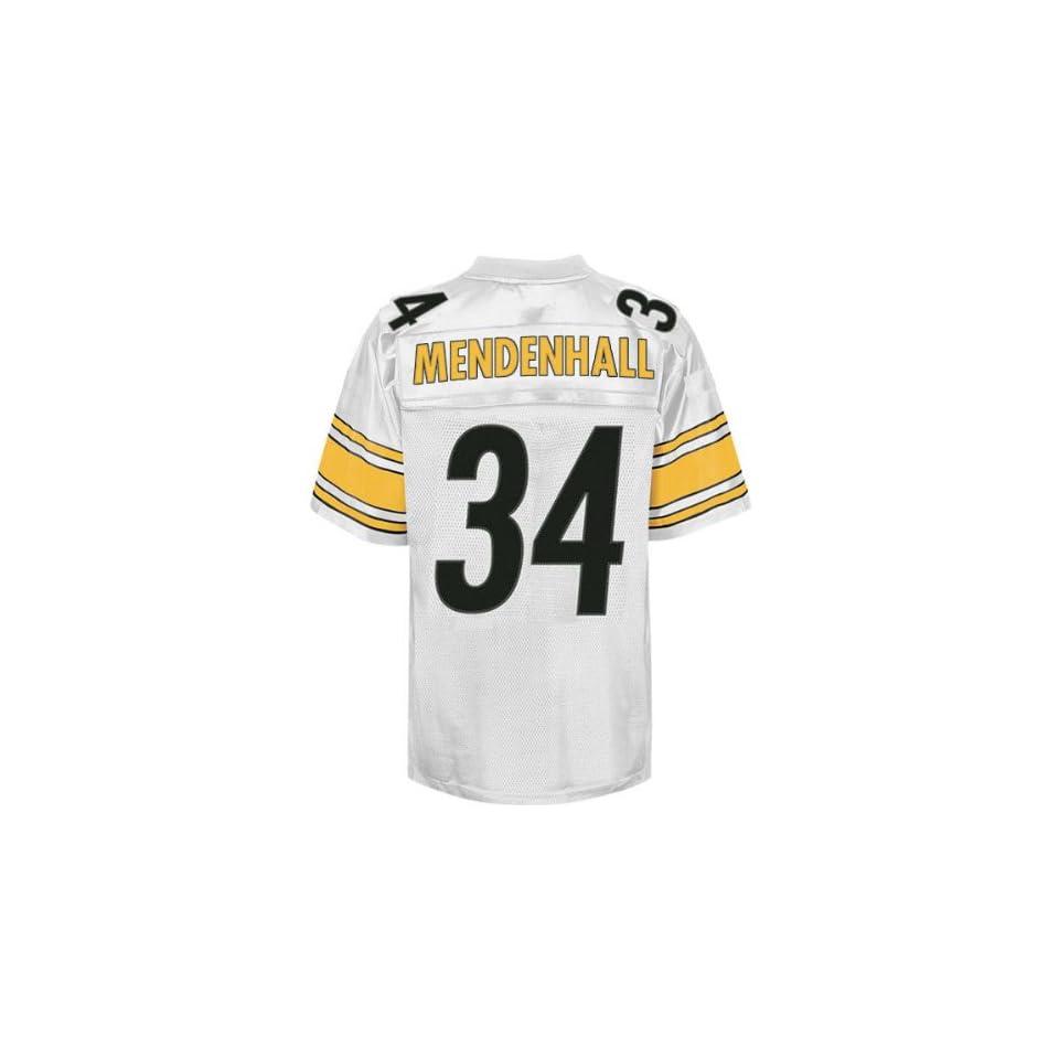 d6db4d181ee KIDS Pittsburgh Steelers NFL Jerseys #34 Rashard Mendenhall WHITE on ...