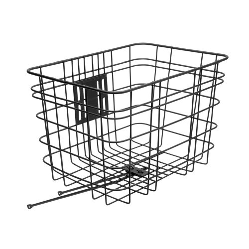 Electra Cruiser Wire Bicycle Basket (Black)