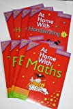 Oxford At Home With...Collection, 8 Books, RRP £31.92, Age 5-7 (Maths, Times Tables, Phonics, Spelling 1, Handwriting 1, English, Handwriting 2, Spelling 2)