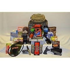 Bug Out Bag Loaded Eberlestock Gunslinger II Pack (Gunslinger 2) in Military Green... by Eberlestock, Adventure Medical Kits, GSI Outdoors, UST, Coghlan