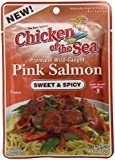 Chicken Of The Sea Pink Salmon, Sweet and Spicy, 2.5 Ounce (Pack of 12)