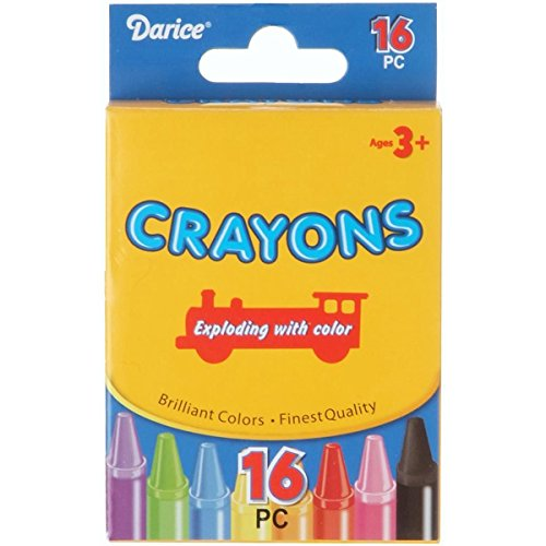 Crayons - 16 colors - 1