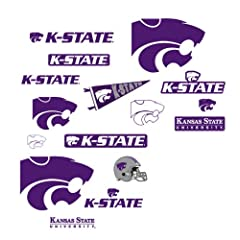 Buy NCAA Kansas State Wildcats Team Logo Assortment Wall Graphic by Fathead