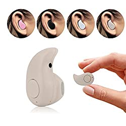 Airmate Ultra Mini Wireless Invisible Bluetooth 4.0 In ear Music Earphone Earbud Headset Headphone with Microphone for iPhone, Samsung, LG, iPad, HTC and most Smartphone