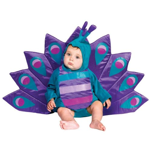 Baby Peacock Costume Fits Child Wearing 6-18 Month