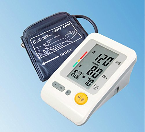 Moniteur de pression artérielle bras entièrement automatique intelligent