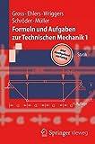 img - for Formeln und Aufgaben zur Technischen Mechanik 1: Statik (Springer-Lehrbuch) (German Edition) book / textbook / text book