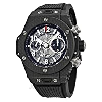 Hublot Big Bang Unico Carbon Automatic Skeletal Dial Mens Watch 411.QX.1170.RX by Hublot