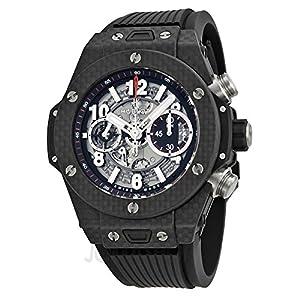 Hublot Big Bang Unico Carbon Automatic Skeletal Dial Mens Watch 411.QX.1170.RX by Hublot