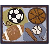 CoCaLo Rug, Sports Fan (Discontinued by Manufacturer)