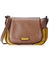 Caprese Stella Women's Sling Bag (Biscuit)