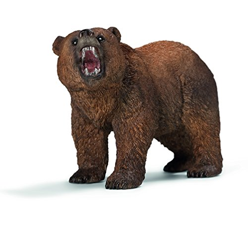 Grizzly Bear Toy Replica