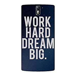 Gorgeous Hard Dream Back Case Cover for One Plus One
