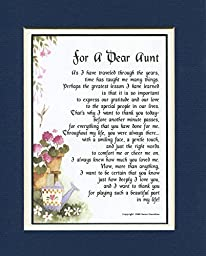 A Present for a Dear Aunt #68, Aunt Poem